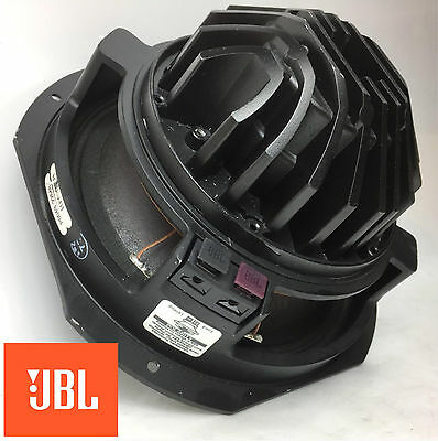 "JBL Pro 2251J JPL 10"" 16ohm 400W Neodymium Mid Frequency Transducer Tested 22648"