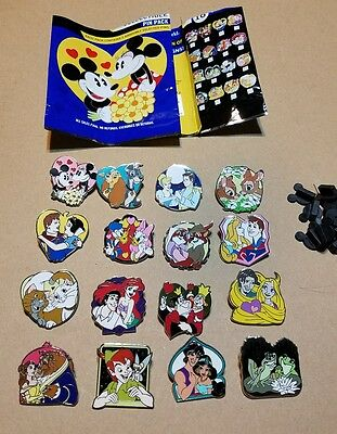 Disney Pins Couples Mystery Pack Series 16 Pin Complete Set AUTHENTIC