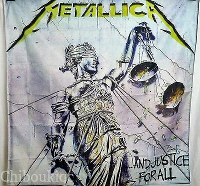 METALLICA And Justice For All HUGE 4X4 BANNER poster tapestry cd album cover art