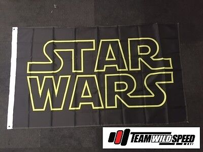 Star Wars Large Flag Man Cave WorkShop Flag Banner Gift