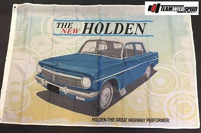 Holden Large Flag Banner Mancave Workshop Garage