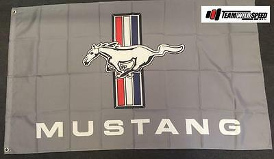 Ford Mustang Greg Large Flag Banner Mancave Workshop Garage