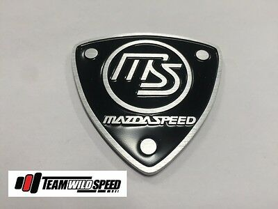 Mazdaspeed Badge Black Mazda RX7 RX8 Mazda 3 6 RS RB Spirit R Type A Type B MPS