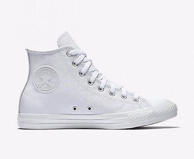 famous brand fashion high fashion ORIGINAL CONVERSE CHUCK Taylor All Star White Leather Shoes ...