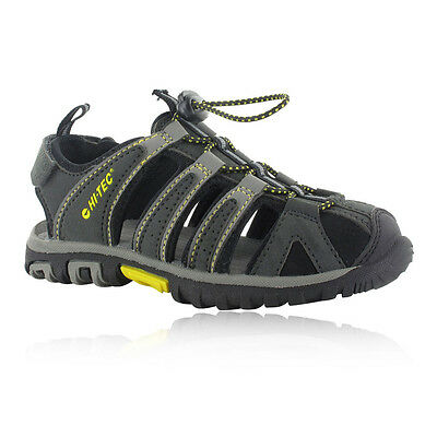 Hi-Tec Cove Junior Boys Grey Outdoors Walking Trekking Sandals Summer Shoes