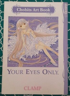 Your Eyes Only Chobits Art Book by Clamp Staff (2008, Paperback)