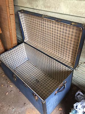 Vintage Late 1960s Cabin Trunk
