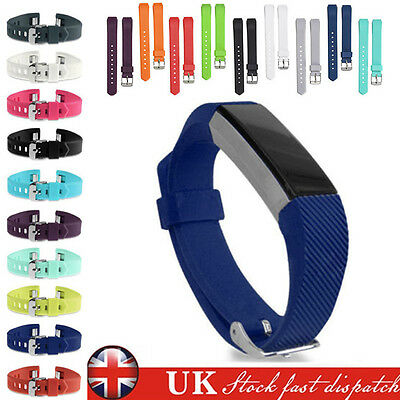 Silicone Replacement Wrist Buckle Candy Colors Watch Band Strap for Fitbit Alta