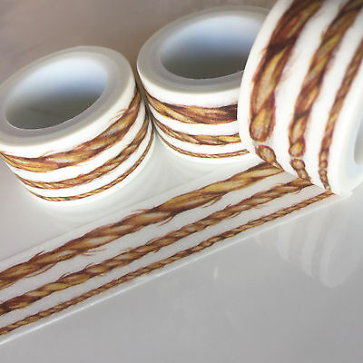 Washi Tape Wide Rope 20Mm X 5Mtrs Craft Wrap Plan Scrap
