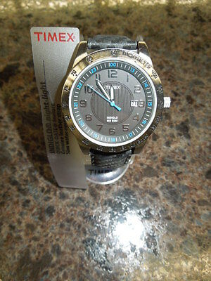 Nwt- Men's Timex Watch - T2N920 - Indiglo  Classic Sport  -Light - Black -$39.95