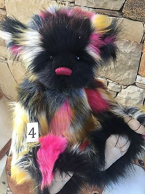 Scrummy 4 Charlie Bears  Fully Jointed collectable Plush Teddy Bear
