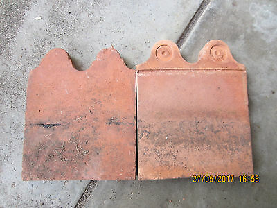 """victorian"" Garden Terracotta Border  Edging Tiles- 76 in total"