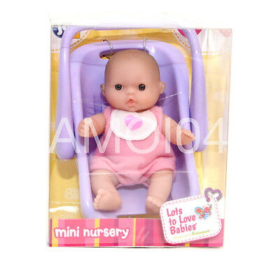 Berenguer Baby Doll Mini Nursery in PURPLE Capsule Lots to Love Babies *New