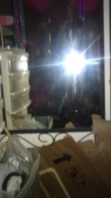 Antique Vintage Real Haunted Mirror iron framed (Real Deal) Not a toy!!!