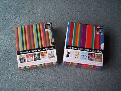 TASTE : The Mini Cookbook Collection x 2 boxed sets~20 Books~Like New
