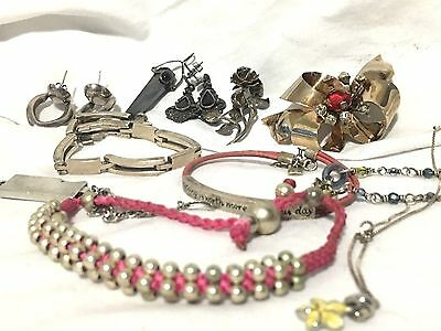 Sterling Silver .925 Jewelry Lot Some Vintage