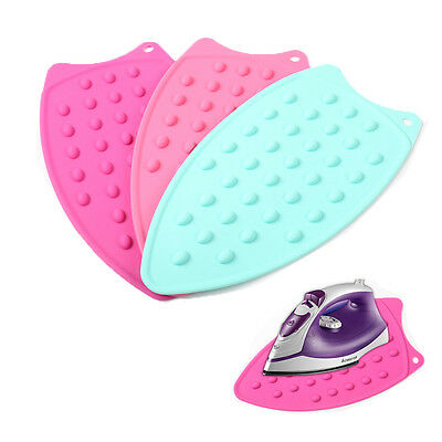 Silicone Iron Hot Protection Underlay Iron Stand Mat Rest Ironing Pad Boards