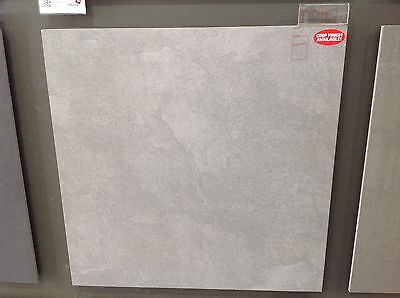 600x600 Ceramic Wall And Floor Tiles - Grey Ash Colour, 6.5mtrs