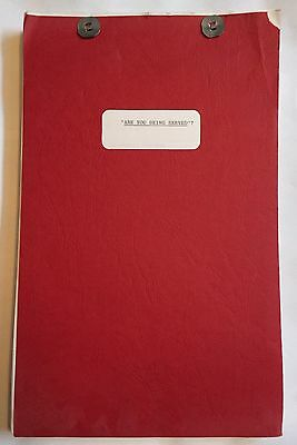 Are You Being Served original 1977 movie script