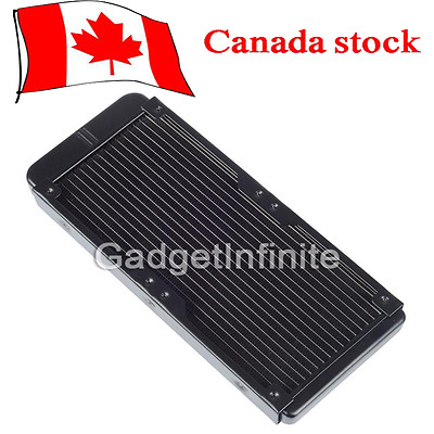 240mm G1/4 Aluminum Computer Radiator Water Cooling for CPU LED Heatsink