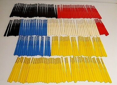 201 Pan Am Airlines First Class Dining Drink Swizzle Stir Stick Lot