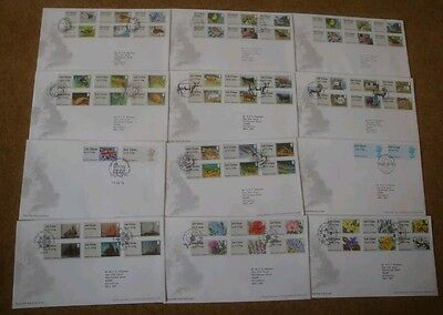 Excellent Collection GB Post and Go FDCs 2010 - 2015 all Special Postmark