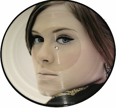 """ADELE 12"""" Rolling In The Deep PICTURE DISC Extended Oakenfold Mixes 4 Tk"""