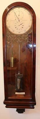 Dent Mahogany Astonomical Wall Regulator Jewelled 1850