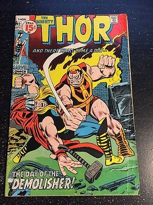 Mighty Thor#192 Excellent Condition 4.0(1971) Last 15 Cent Issue!