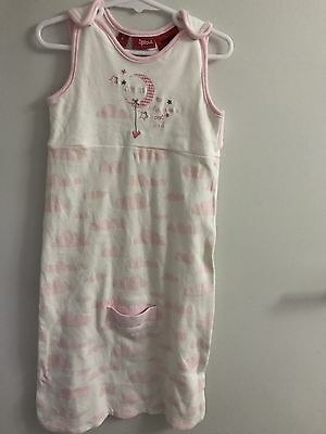 Sprout Sleeping Bag Size 0 White Pink Clouds Love You To The Moon And Back