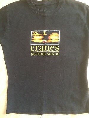 Cranes T Shirt Future Songs Gig 2001 Rome Saturnalia Forever Wings Of Joy Loved