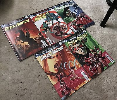 2017 DC Comics Rebirth Blue Beetle #6-9 Green Arrow #19-23 9 Issue Lot NM