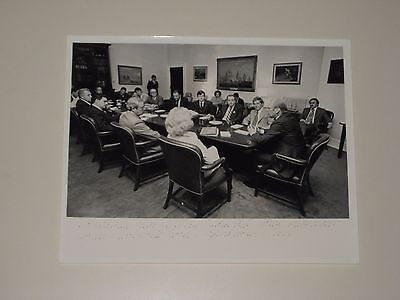 Gerald Ford Photo of Meeting w/ Southern Republican Leadership White House 1976