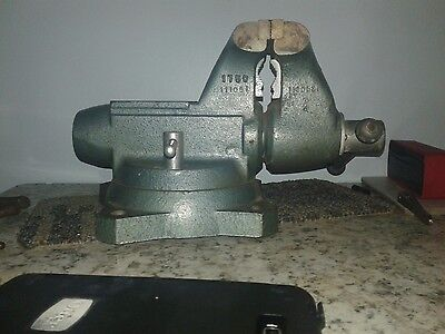 """Used Wilton 5"""" Jaw Swivel base Bullet Vise  Good working condition!"""