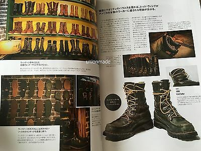 Red WING BIBLE Book Magazine Complete Catalogue Redwing Men's Work Boots VTG NEW