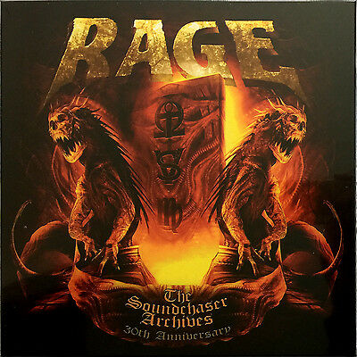 RAGE - The Soundchaser Archives 30TH ANNIVERSARY LIMITED 4x Vinyl LP Box Set NEW