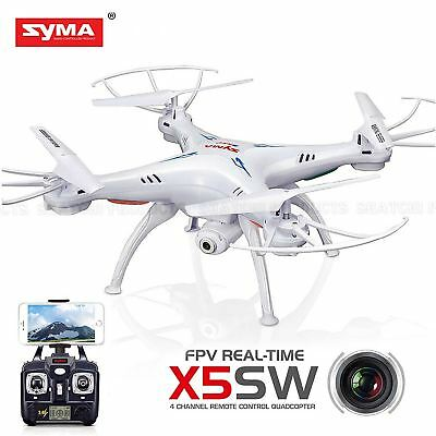 Syma X5SW Dron 4 Channel FPV Real Time Video Quadcopter Christmas Gifts -WHITE