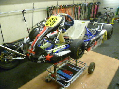 2016 Synergy Chrome rolling Chassis Iame Cadet