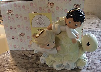 Precious Moments Figurine There Shall Be Fountains Of Blessings 2000 731668