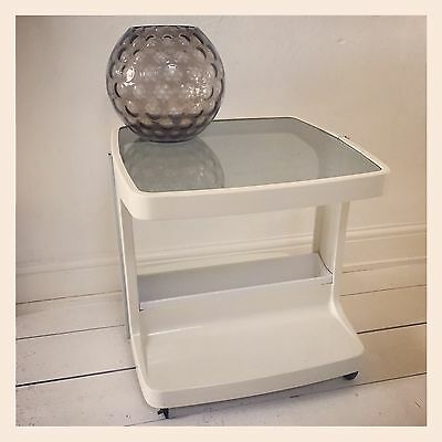 ✿Retro VIntage 1970's Trolley Table Kartell Style Storage Unit✿