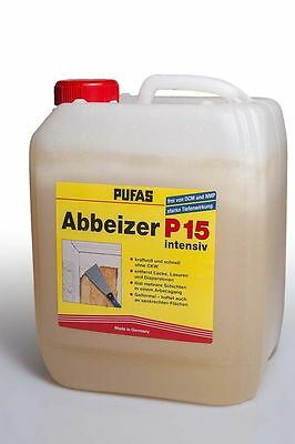 Pufas Paint stripper P15 intensive 5l Decoaters Paint Strippers strippers