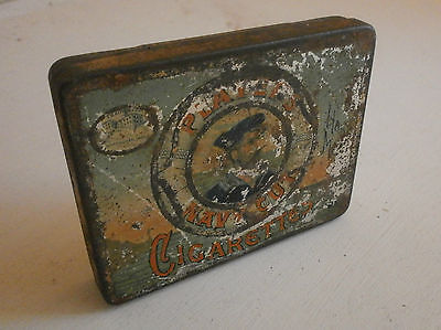 vintage cigarette tin players navy cut