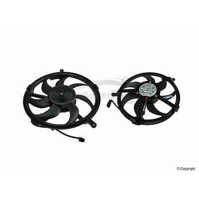 For Mini Cooper Conv Clubman R55 R56 R57 Cooling Fan Assembly w// Housing Behr