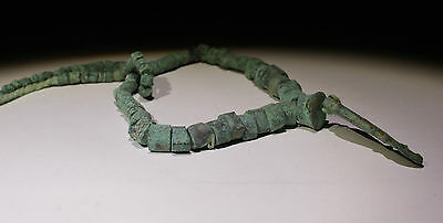 Ancient Bronze Bead Necklace - No Reserve!!!