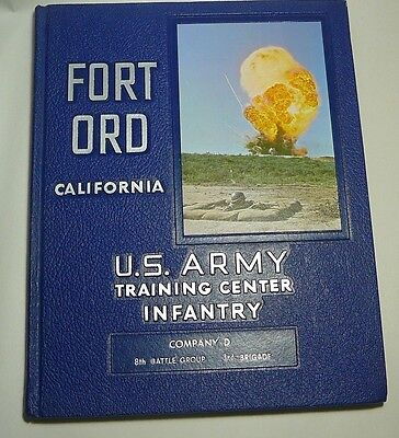 FORT ORD U.S. ARMY INFANTRY TRAINING CENTER Company D,1962