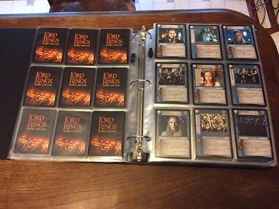 [LOTR TCG] Lord of the Rings Trading Card Game Lot 1,000+ cards **5 foils**