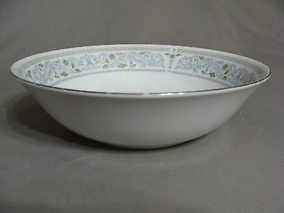 Crown Ming Fine China Round Serving Bowl In The Princess Pattern, Made In China
