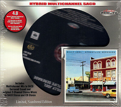 BILLY JOEL - Streetlife Serenade / AUDIO FIDELITY Surround 4.0 Multichannel SACD
