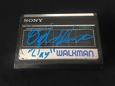 Rare Dylan Minette Signed Walkman Exact Proof Clay Jensen 13 Reasons Why