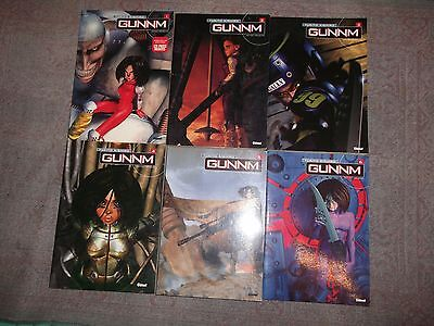 Lot Mangas Gunnm Grand Format Edition Deluxe Tomes 1-2-3-4